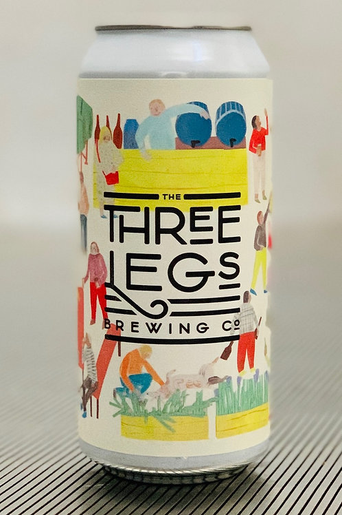 The Three Legs Brewing Co - Session IPA 440ml