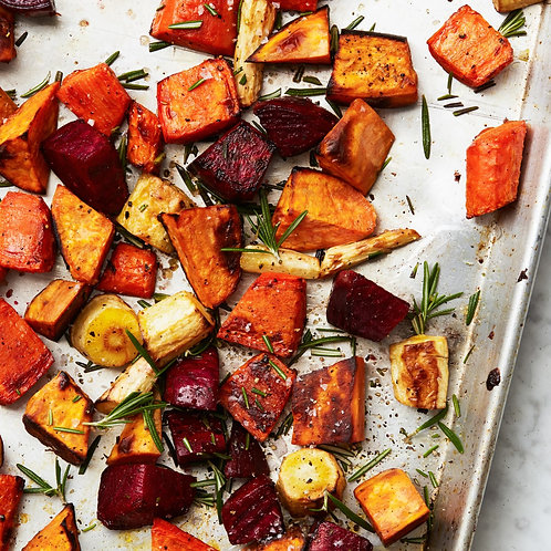 Roasted Root Vegetables for 2