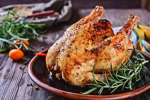 Roast Chicken for 4 people - 1, 2 or 3 Courses