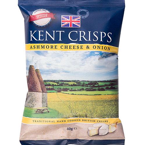 Kent crisps- Smoked Ashmore 150g