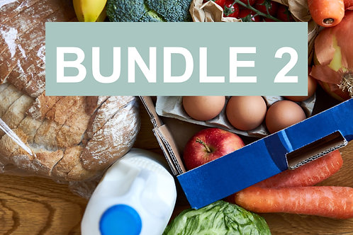Bundle 2 for 2-3 people - Weekly Essentials Box & Ready Meals