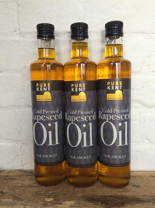 Oak Smoked Cold Pressed Rapeseed Oil 250ml