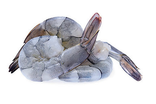 Tiger Prawns - raw & peeled
