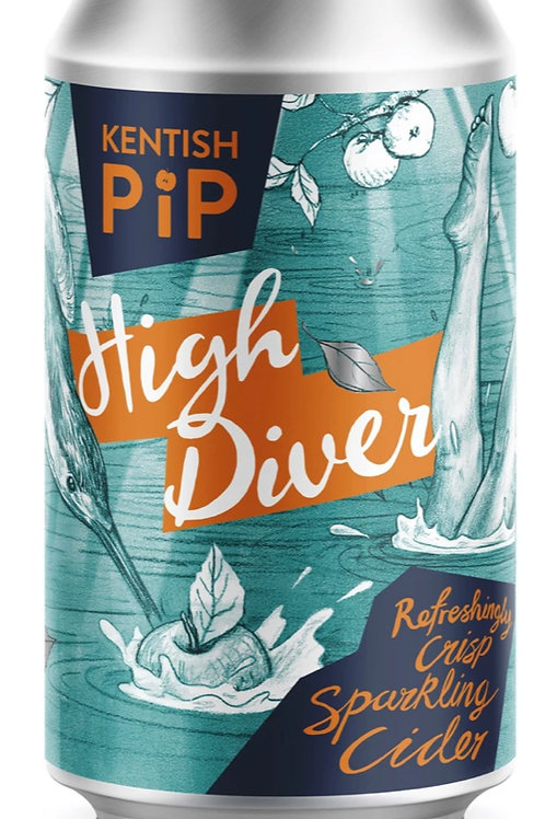 Kentish Pip High Diver sparkling cider 330ml