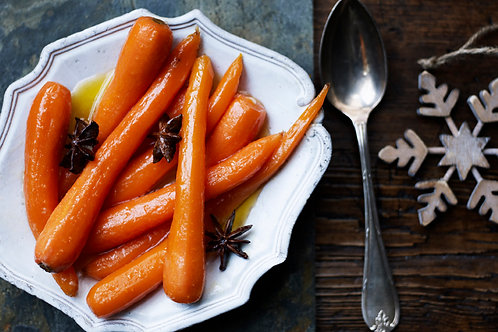 Spiced Orange Chantenay Carrots for 2