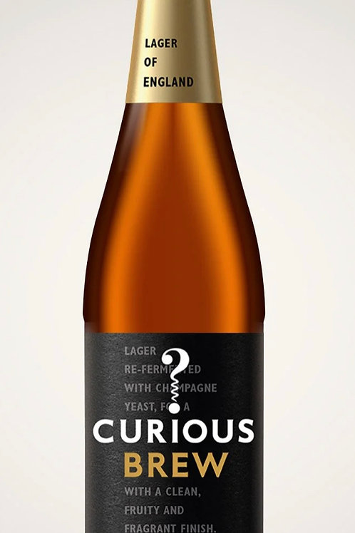 Curious Brew Lager 330ml 4.7%