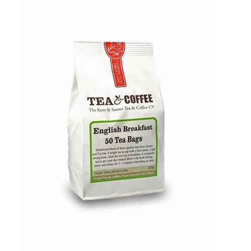 English Breakfast Tea Bags 50s