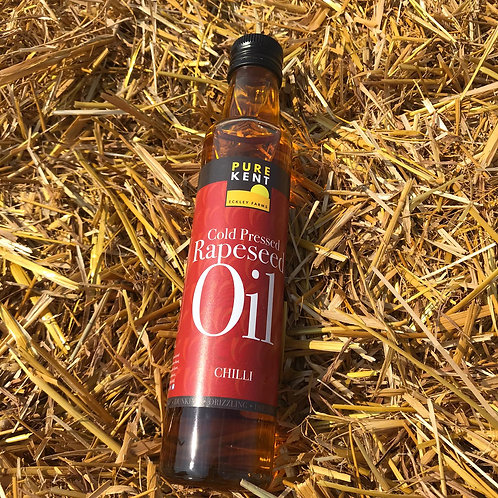 Pure Kent Cold Pressed Chilli Rapeseed Oil 250ml