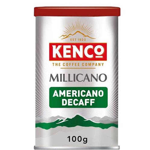 Kenco Millicano Americano Decaffeinated Instant Coffee 100G