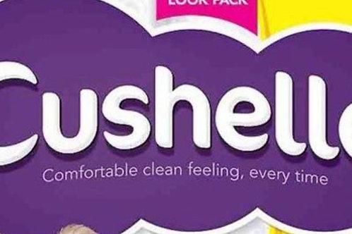 Cushelle toilet roll 4s