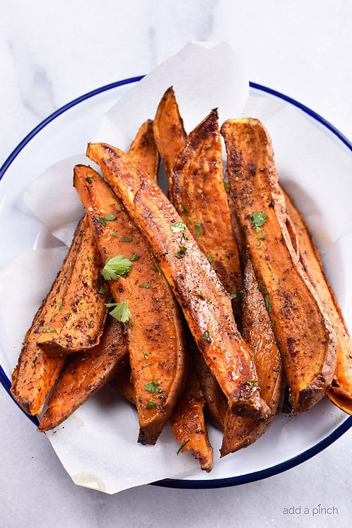 Sweet Potato Wedges for 2