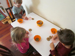 Pumpkin seed counting