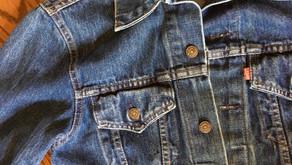How to Tea Dye a Denim Jacket