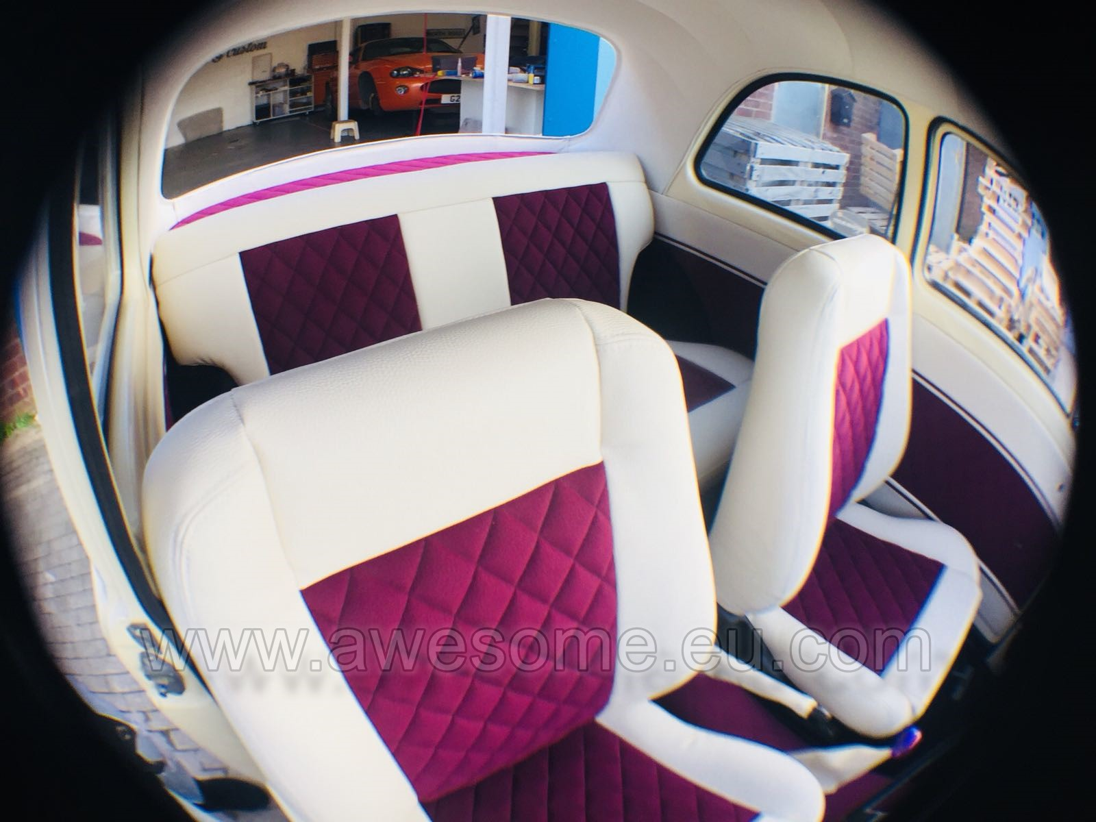 Ford 100e custom seating