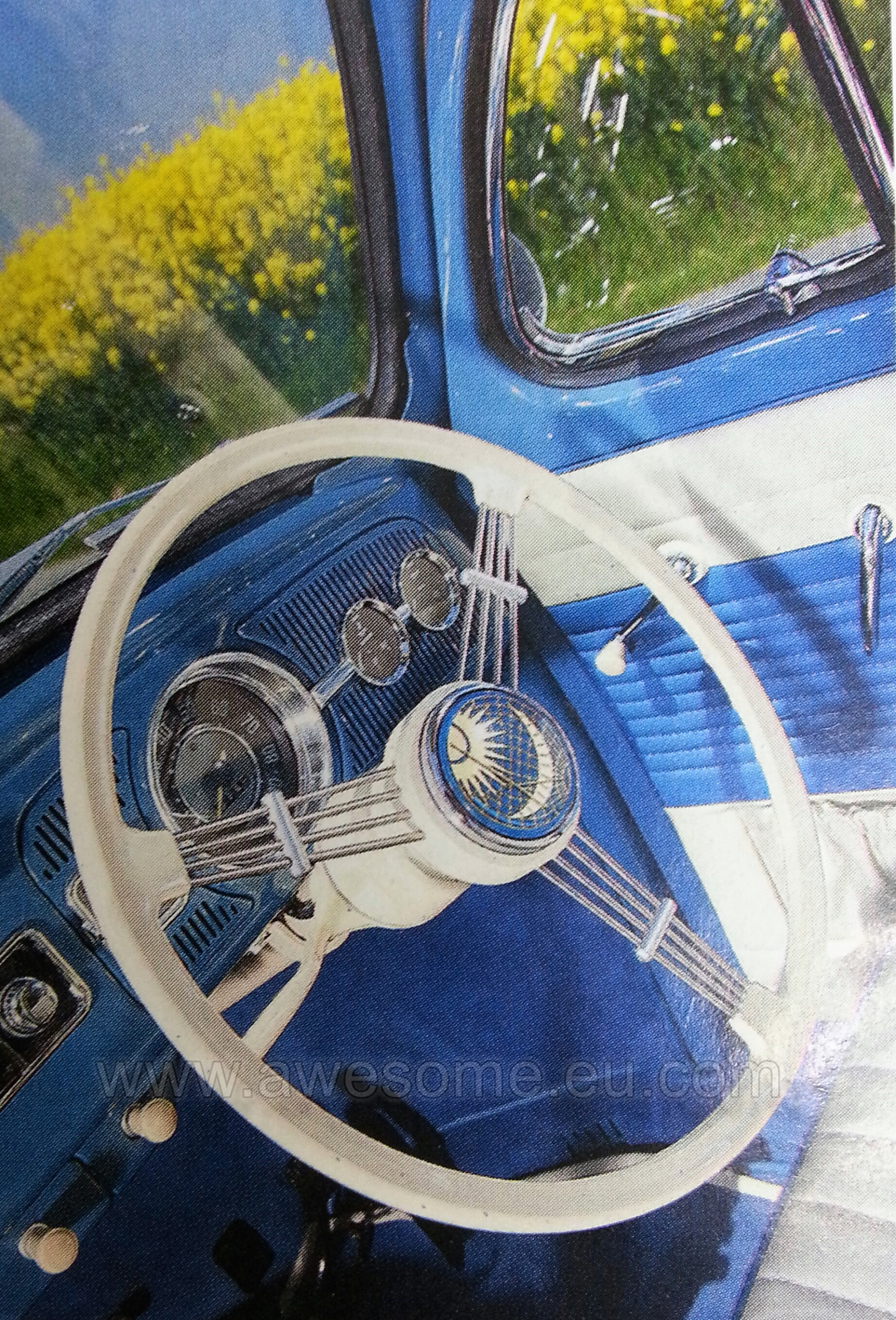 VW Beetle, custom door cards