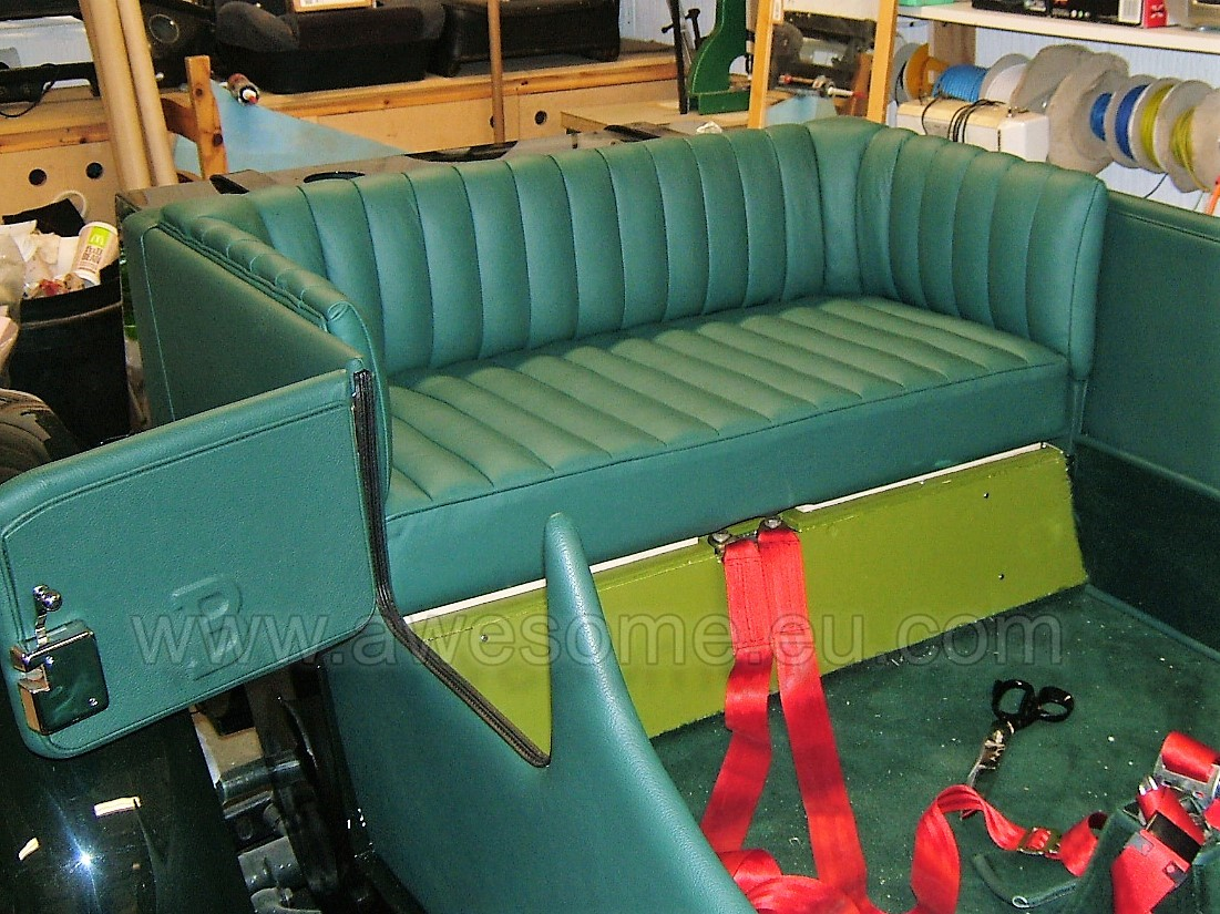 Bentley rear seating