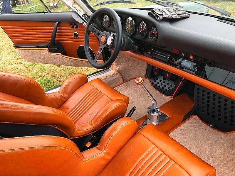 Porsche 911s custom interior