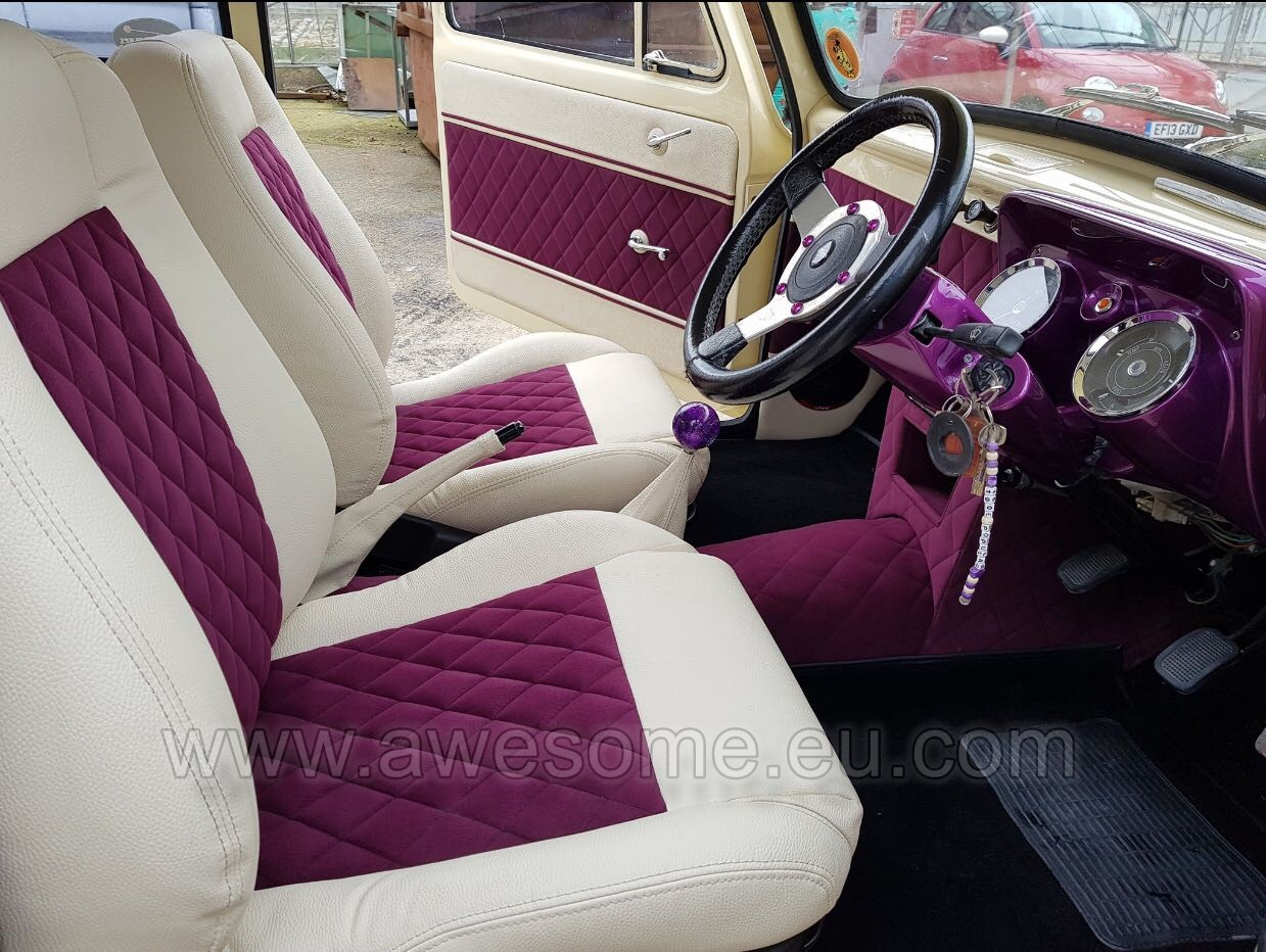 Custom Ford 100e interior