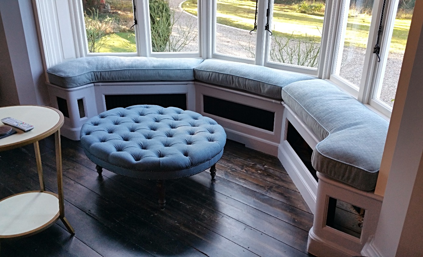 Footstool and window seat