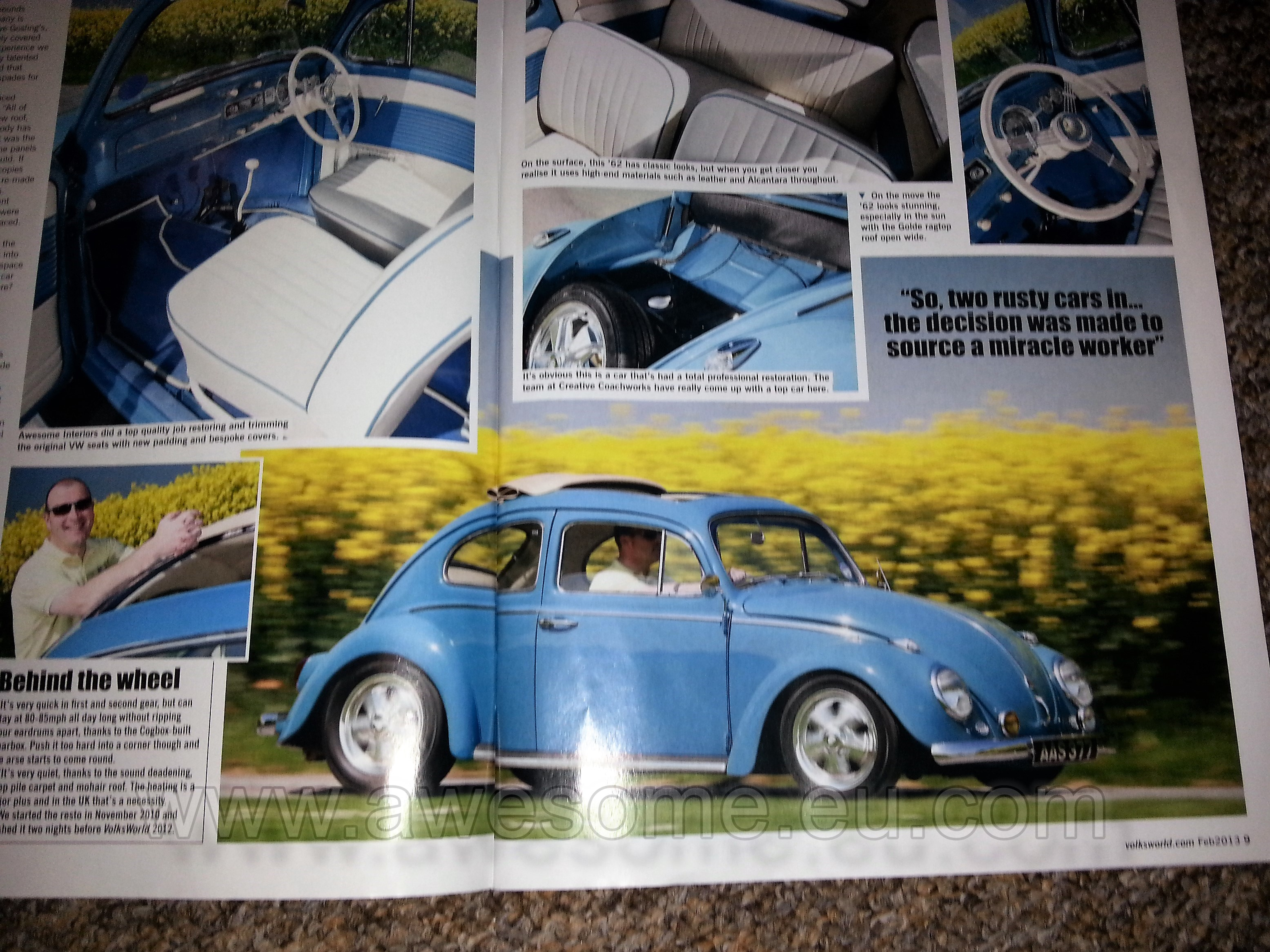 Volksworld Magazine feature