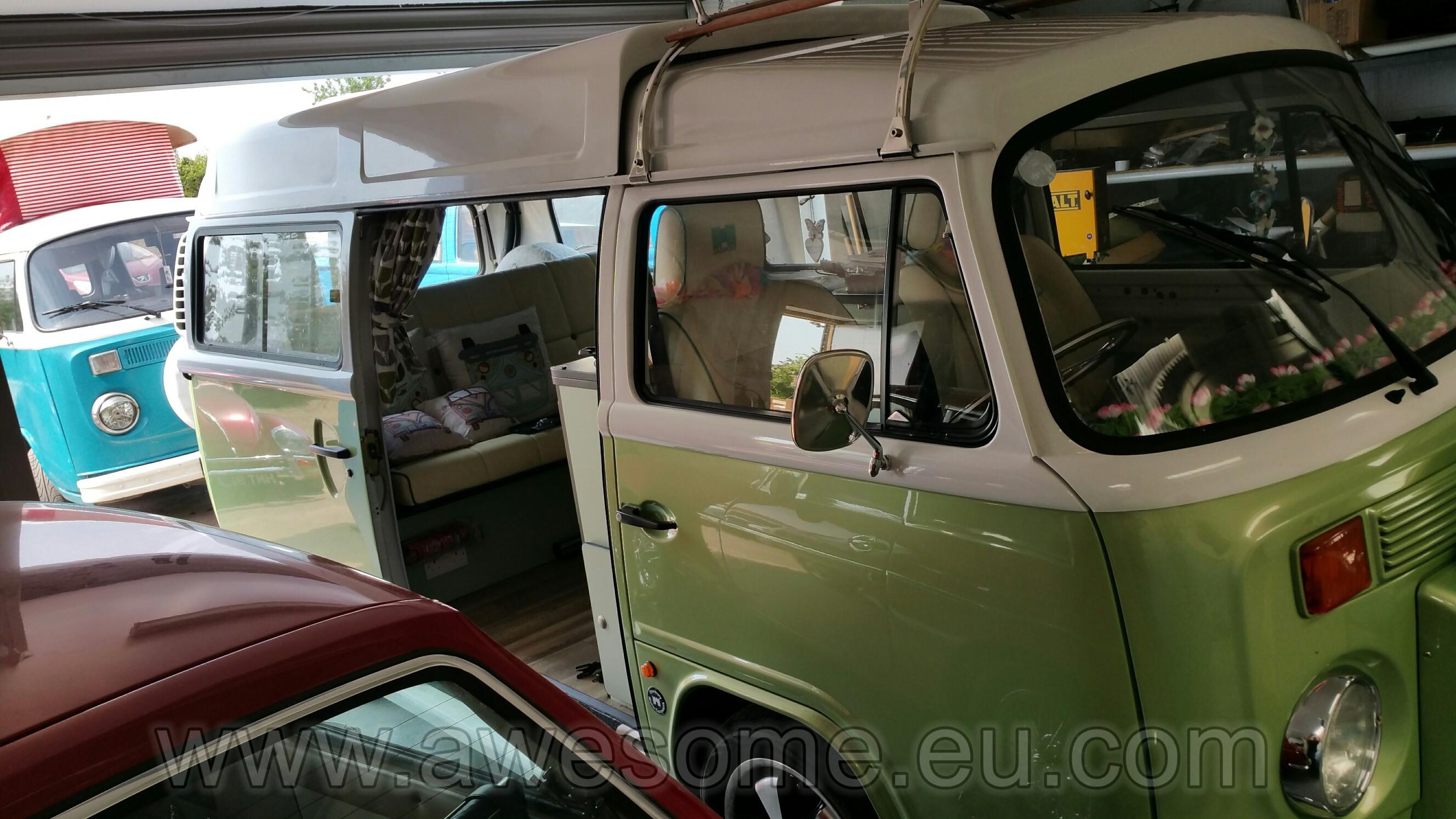 Danbury T2 Campervan cab