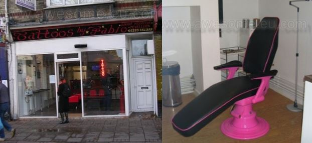 Tattoo shop in Cambridge