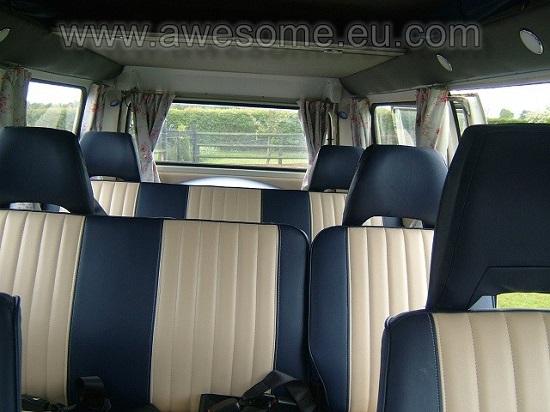 Type 2 Volkswagen bus interior
