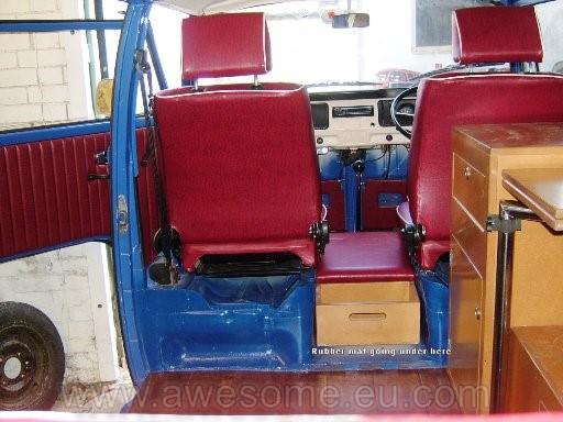 Volkswagen T2 VW Campervan