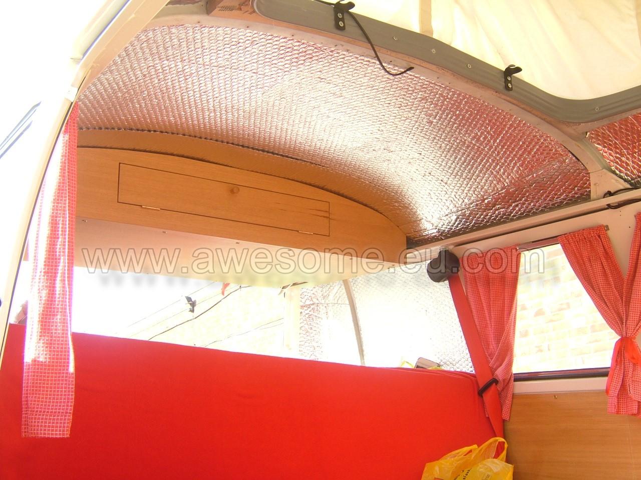 Splits screen campervan interior