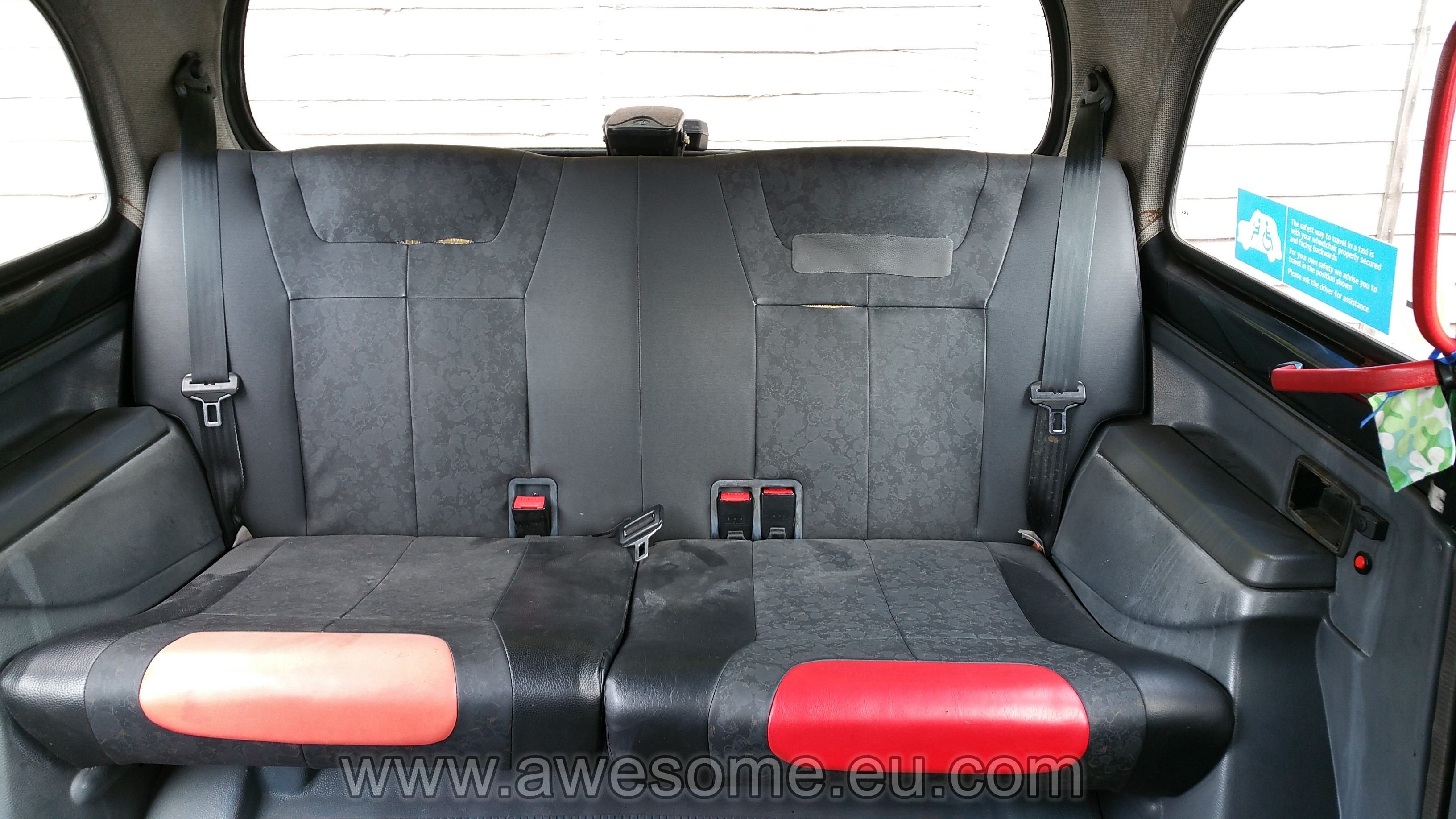 Custom London Taxi interior