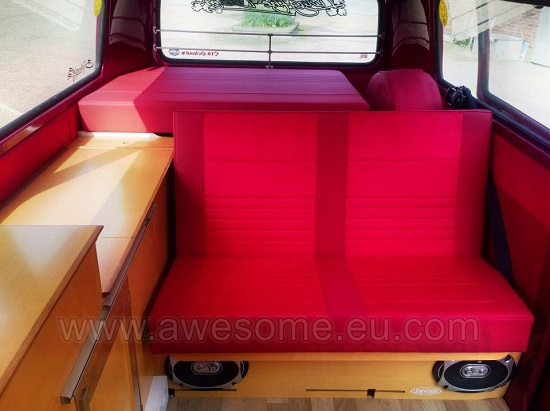 Type 2 VW Campervan