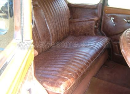 1948 Wolseley interior