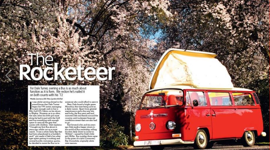 Camper and Bus Magazine feature