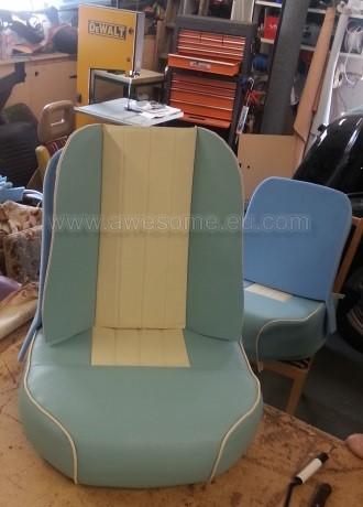 Bertie's custom seats