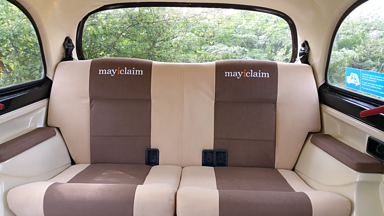 London Taxi Interior
