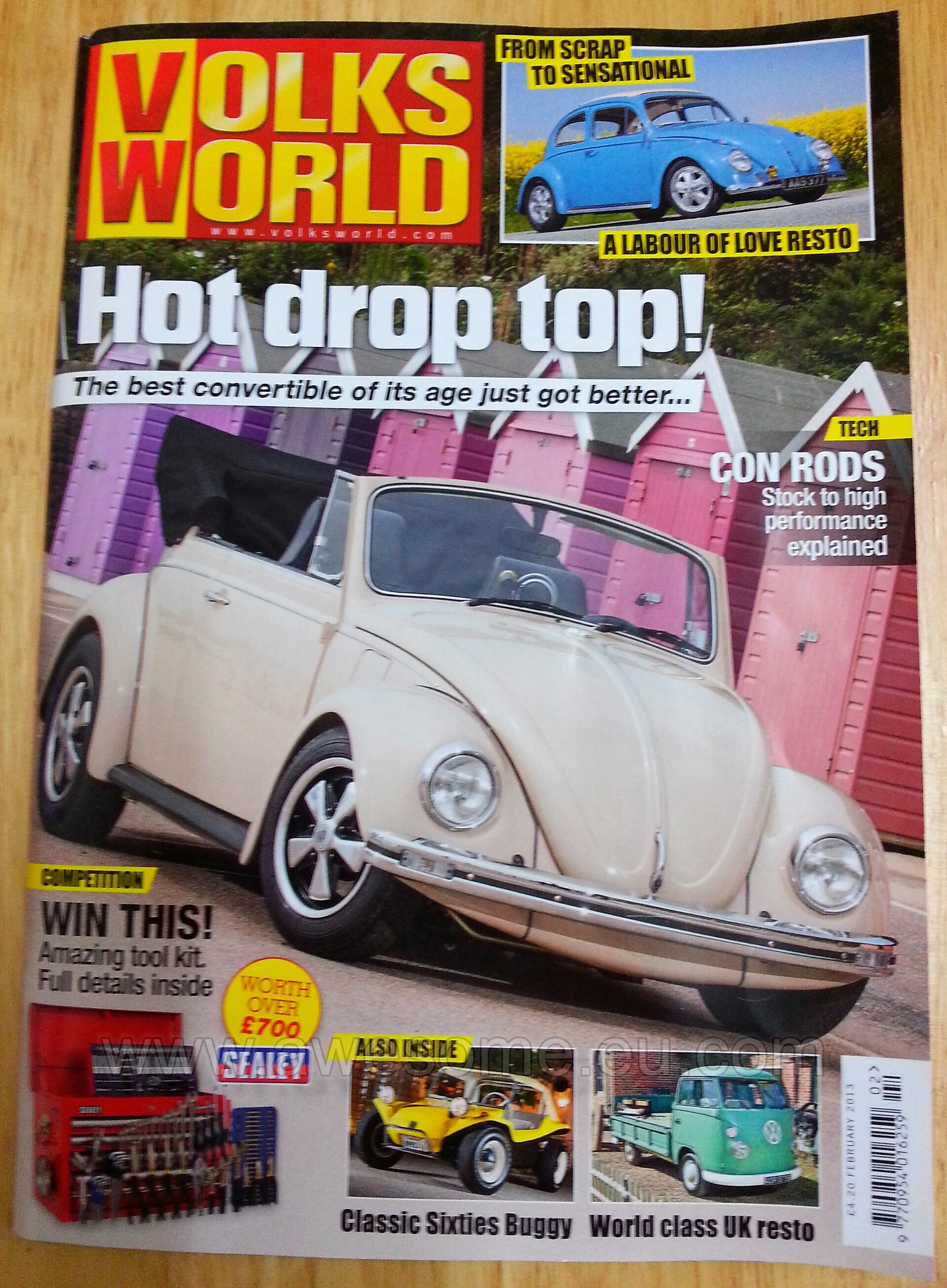 Volksworld Magazine featured Beetle
