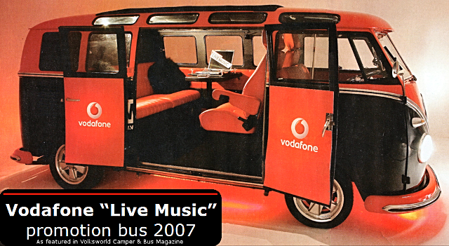 Vodafone VW Samba Deluxe