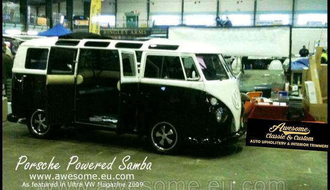 Porsche powered VW samba