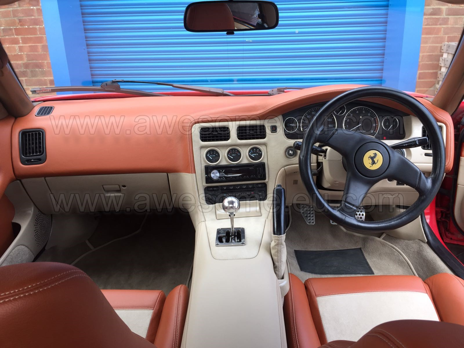 Ferrari F355 GTS - MR2 interior 7