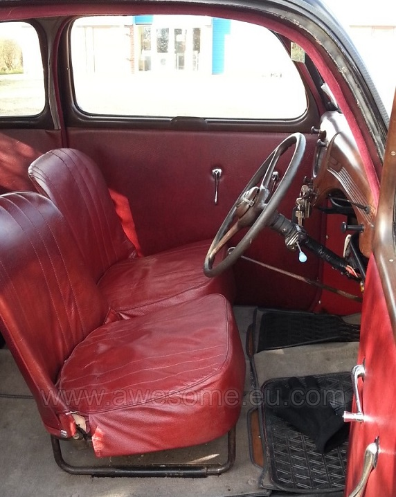 1951 Ford Anglia - original interior