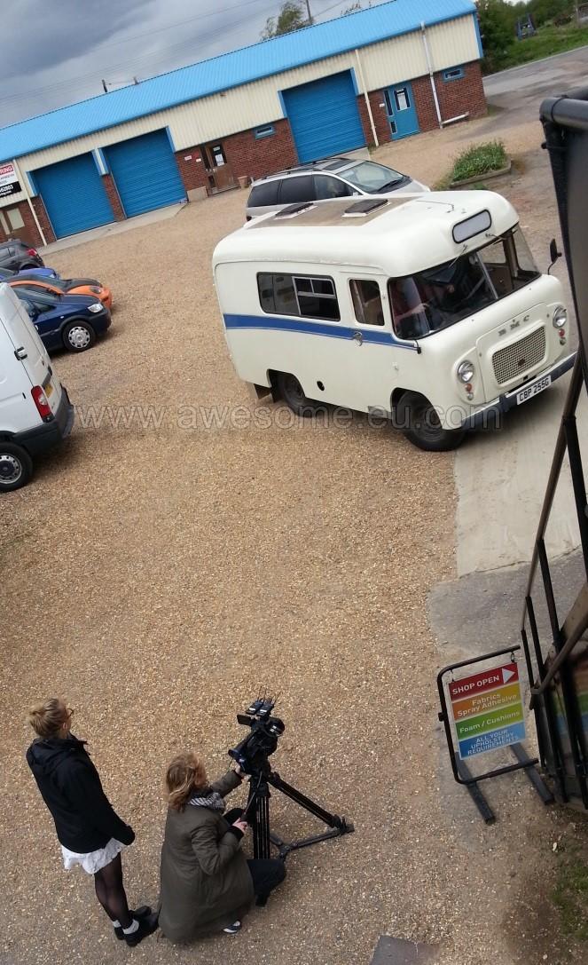 Filming began