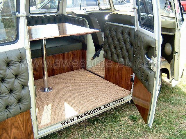 Split screen Volkswagen Campervan