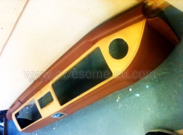 Volkswagen T2 campervan upholstered dashboard