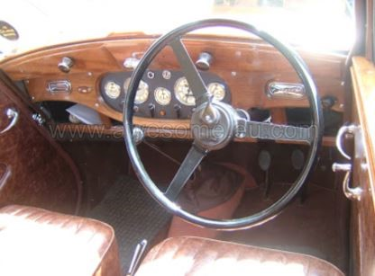 1948 Wolseley dashboard