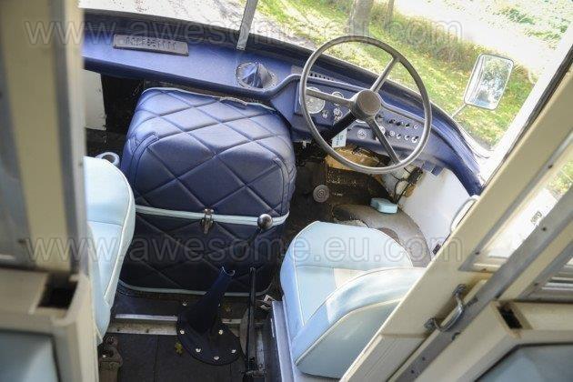 Bertie's custom front cab