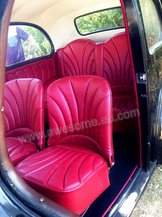 1951 Ford Anglia - new interior