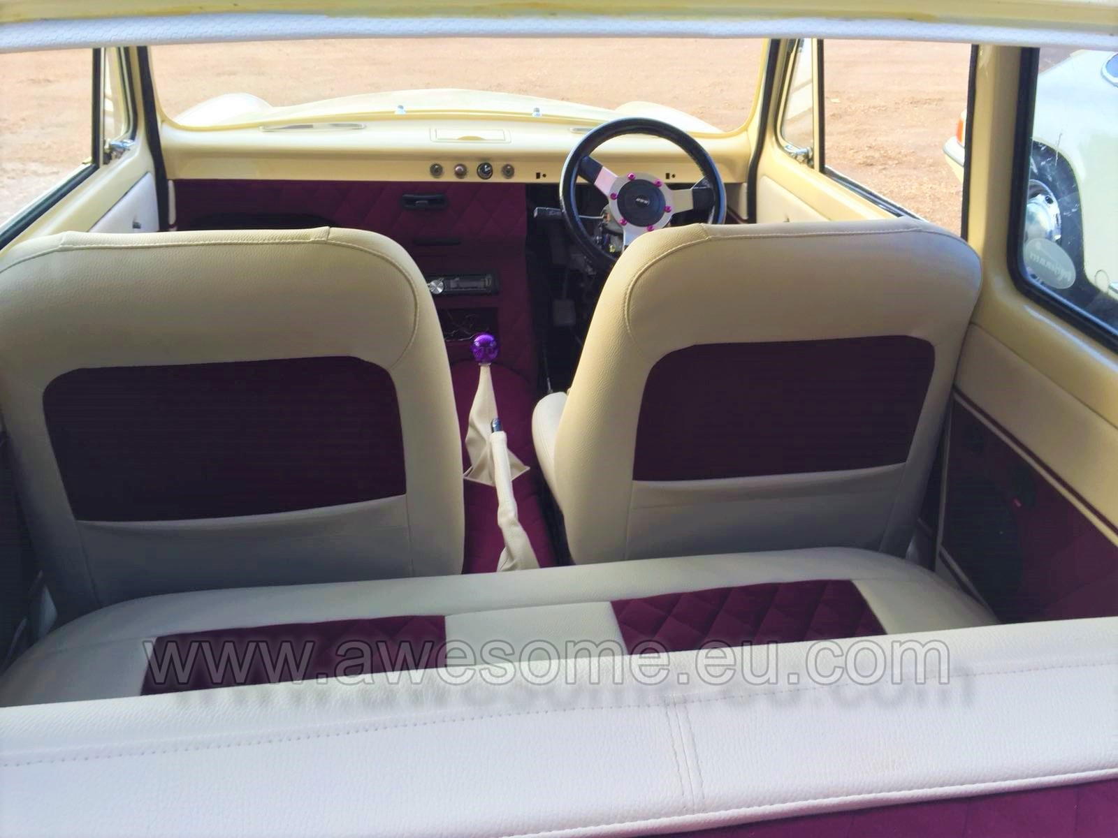 Ford 100e custom interior