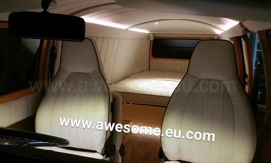 T2 Volkswagen Panel van interior