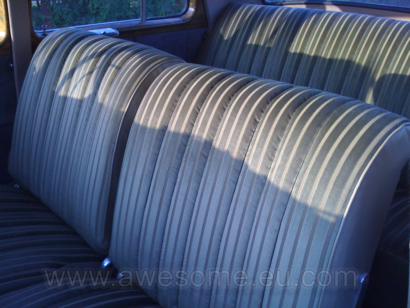Re-upholstered 1955 Mercedes Benz