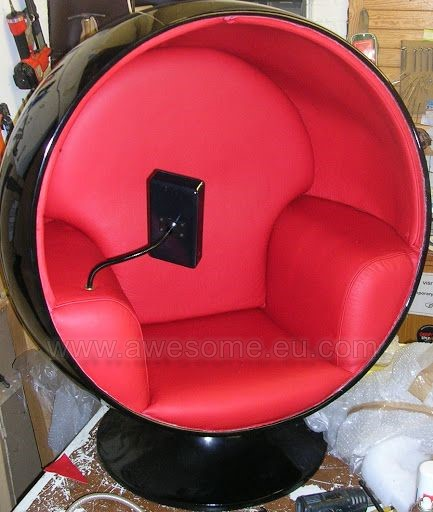 Motorola Razr promotion egg chair